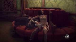 34 Dishonored Very Hard Walkthrough HD PS3 (Shock Torture Art Dealer For Safe Combination)