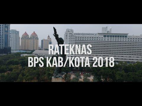 Laporan Pandangan Mata Rateknas Kepala BPS Kab Kota 2018