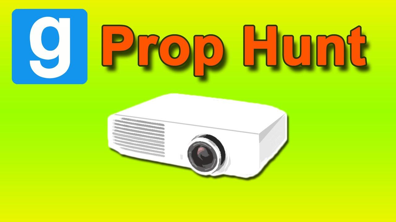 MLG PROjector [Gmod Prop Hunt] w/ Adam, Max, & Mini