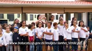 Junho Verde: plantio de árvores começa nas escolas com presença da Câmara
