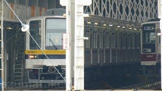 【東武20410系 21411F 新栃木に1週間留置 正式配属した模様】東武8000系 8190F 現在も休車。8189Fも運用離脱しているか?