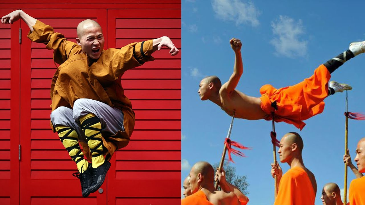The monks of Shaolin. Training Shaolin monks. 10 myths about the monks of Shaolin 40