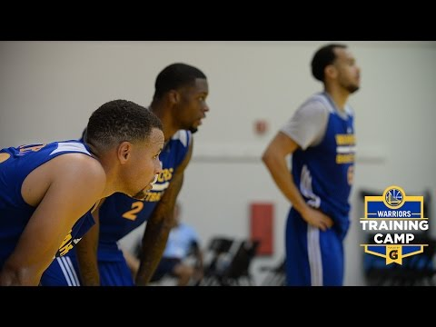 2016 Warriors Training Camp: Dubs Back At It