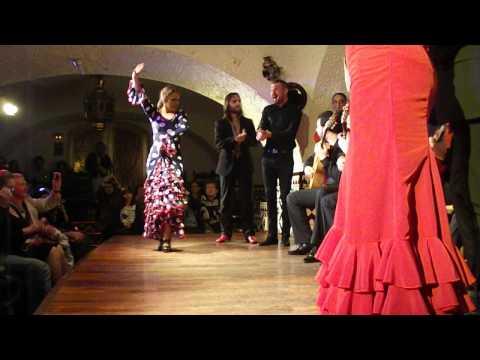 Flamenco at Tablao Cordobés, Las Ramblas, Barcelona
