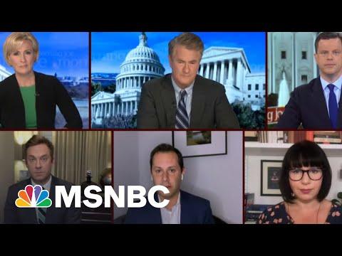 A 'Stark Partisan Divide' On Vaccinations? | Morning Joe | MSNBC