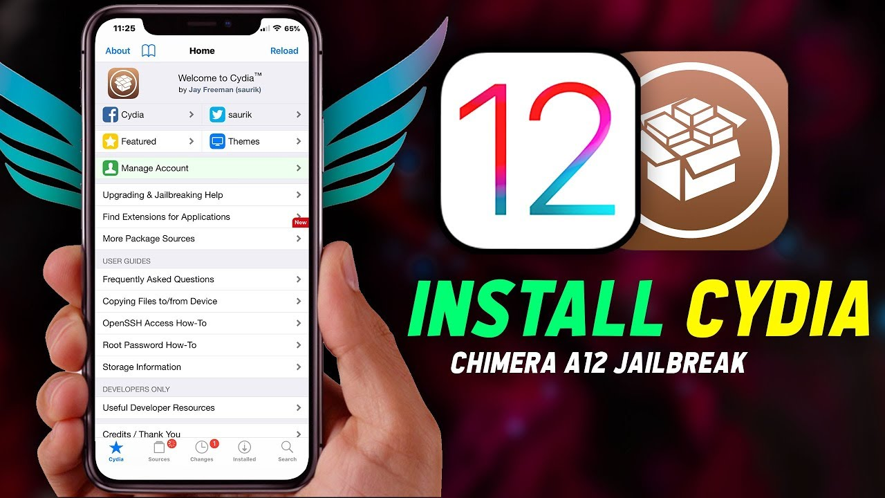 How to Install Cydia on Chimera A12 Jailbreak iOS 12 (Delete