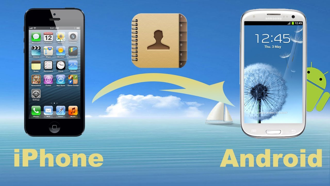 Phone How To Transfer Contact From Iphone To Android Phone iphone contacts to android transfer how copy from phone