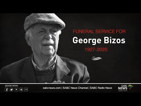 The Special Official Funeral Service for George Bizos, 17 September 2020