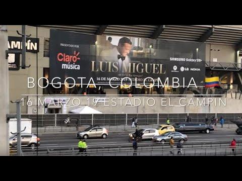 Luis Miguel Bogota  México por Siempre 2019