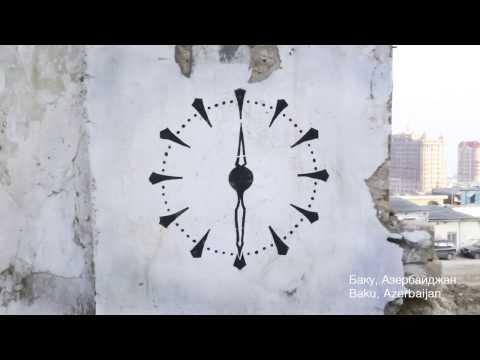 Time Go Forward! Street-art project by Slava Ptrk