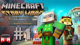 Minecraft: Story Mode Ep. 2: Assembly Required - iOS / Android - Walkthrough Gameplay Part 1