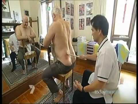 Muscle Detox Therapy Treat Chronic Lower Back Pain Kung Fu Medicine Bamboo Healer Master Tiong