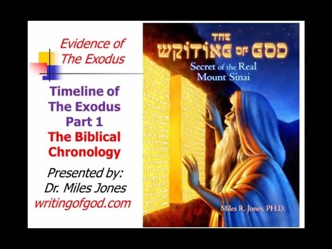 Timeline Part I  - The Biblical Chronology