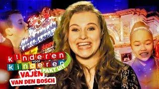 Kinderen voor Kinderen pakt uit met Vajèn van den Bosch