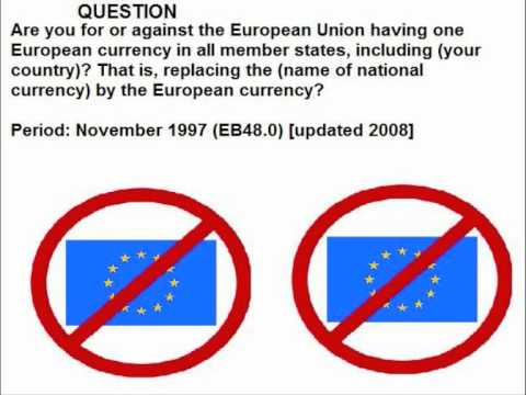 Statistics from the European Commission's Eurobarometer