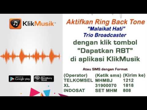 Malaikat Hati - Trio Broadcaster [ Klikmusik & RBT_HP TELKOMSEL & INDOSAT & XL ]