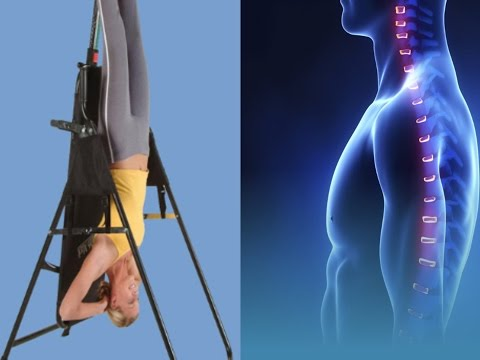 The Cons & Pros To Inversion Therapy For The Spine / Neck Pain, Back Pain, Pinched Nerve