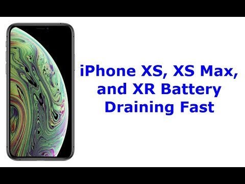 iPhone XS, XS Max, and XR Battery Draining Fast All of a Sudden (Fixed)