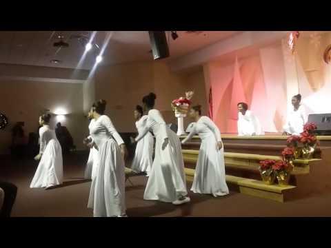 Hope International Praise Dance Christmas Eve