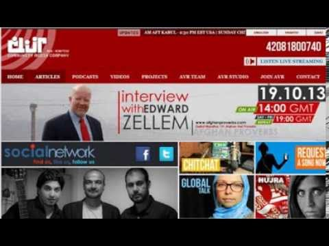 Afghan Proverbs: Edward Zellem radio interview with Afghan Voice FM