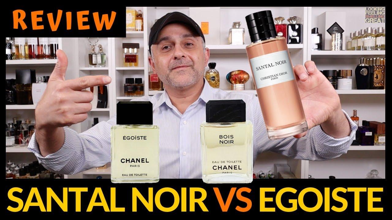 Maison Christian Dior Santal Noir VS Chanel Egoiste