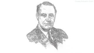 Drawing President Of USA Barack Obama,George W Bush Franklin Roosevelt  The Best Person On The World