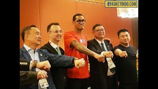 Basketindo.com Neilson Gautama interviews Jordan Clarkson Asian Games 2018 Indonesia