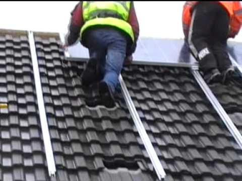 Solar PV install by Eurosolar UK
