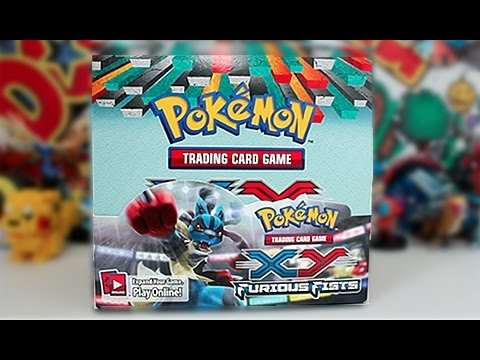 Opening A Pokemon X and Y Furious Fist Booster Box!! Part 1
