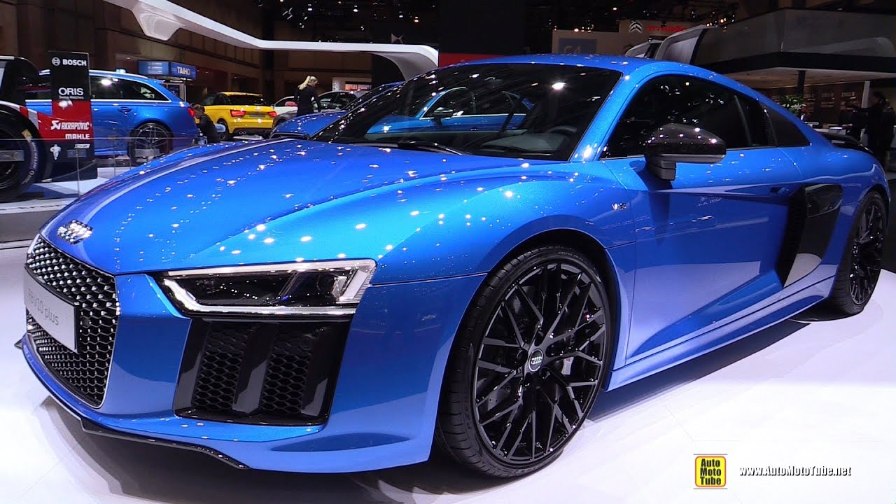 2016 Audi R8 V10 Plus - Exterior and Interior Walkaround - 2015 Tokyo Motor Show - YouTube