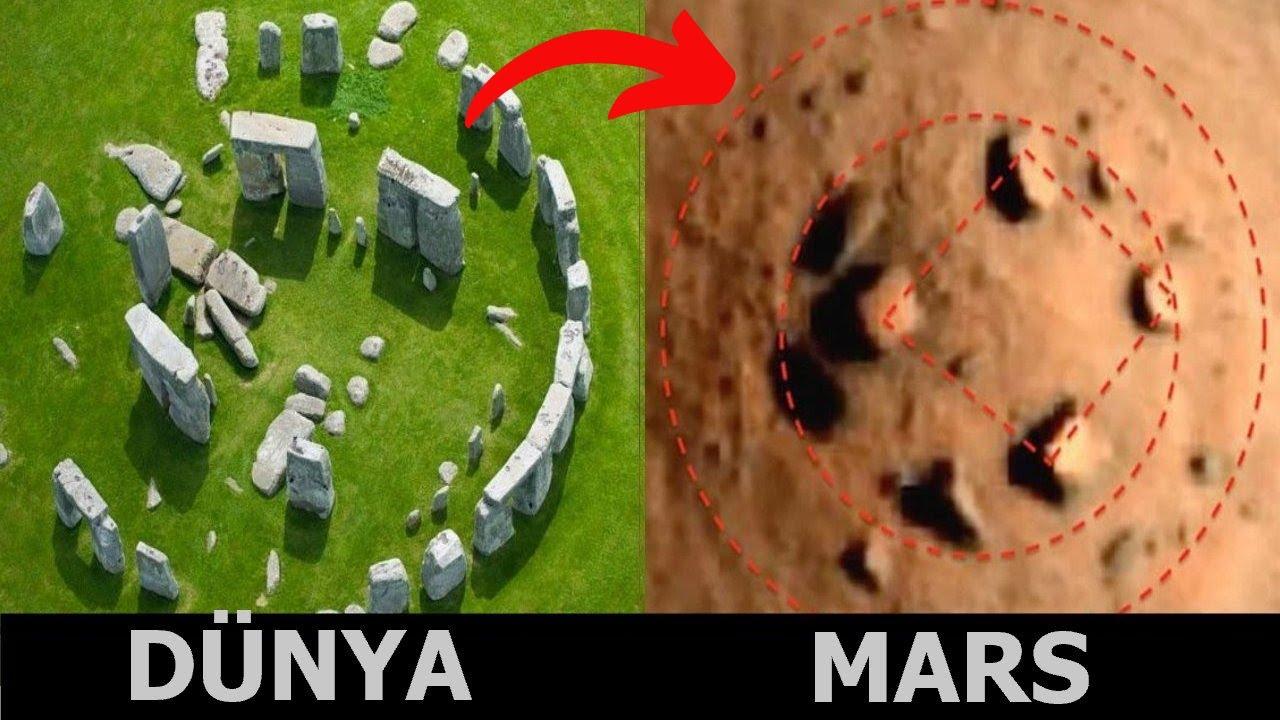 NASA'nın Mars'ta Yakaladığı 8 Gizemli Şey