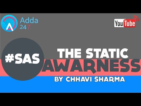 THE STATIC AWARENESS SHOW - Jammu & Kashmir
