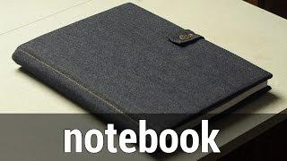 Notebook with Jeans Cover | Блокнот с джинсовой обложкой