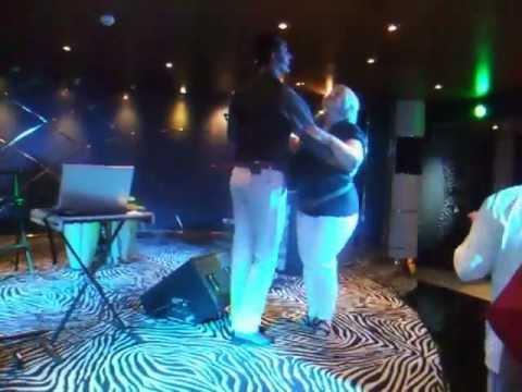 Tango lesson, Zebra Bar, MSC Poesia 2012
