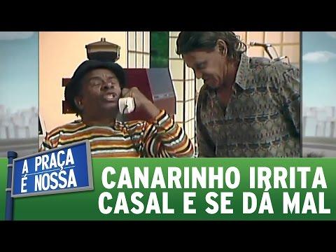 Canarinho irrita casal e se dá mal | Praça Retrô (12/01/17)