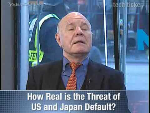 Sovereign Debt: The Next Crisis - Marc Faber
