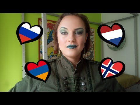 EUROSIS E08 - songs from the Netherlands, Norway, Russia and Armenia REACTION