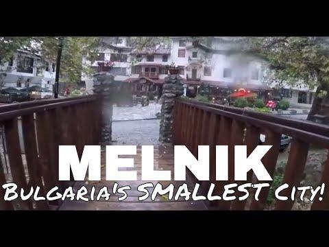 Welcome to MELNIK: Bulgaria's SMALLEST CITY  //  088