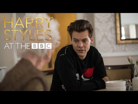 Bingo! Harry Styles is the greatest bingo caller ever! At The BBC