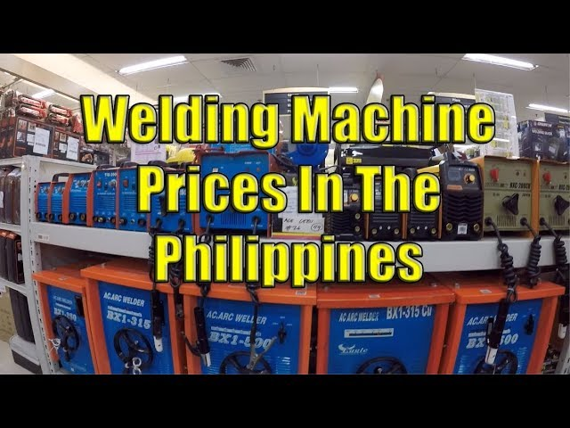 Welding Machine Prices In The Philippines Youtube