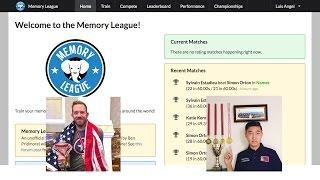 Memory League Nelson Dellis vs Shijir