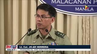 Mga batang bakwit sa Marawi City, nakipagkita kay Pangulong Duterte