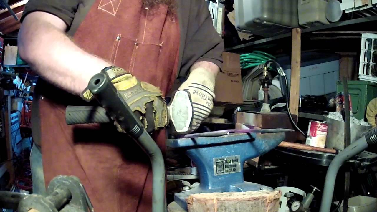 backyard blacksmith ep 4 napkin holder youtube