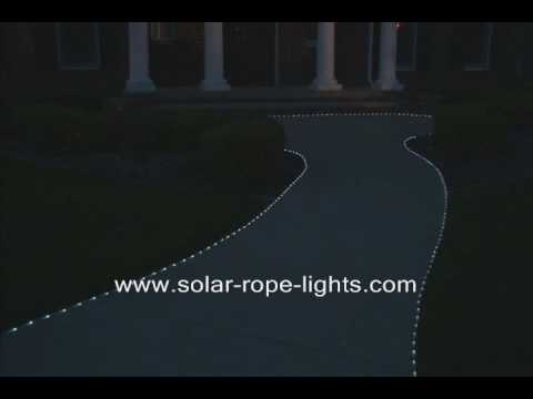 Solar rope lights youtube solar rope lights mozeypictures Images