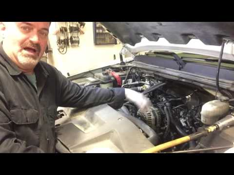 Chevy GMC Valley Pan Gasket Replace