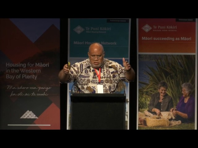 Tauranga National Māori Housing Conference 2016 - Robert Hall