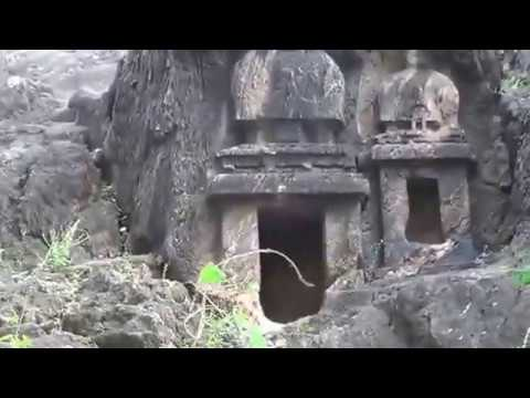 Lovers Spot Undavalli Caves from Road View Undavalli Guntur Dist AP India