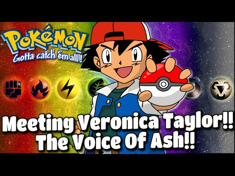 Meeting Veronica Taylor, The Voice Of Ash Ketchum!!