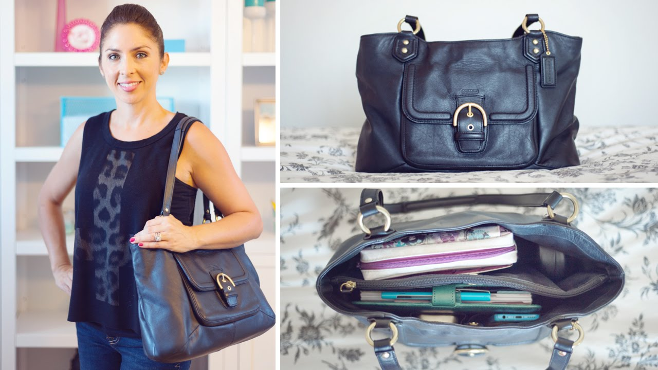 What's In My Bag (Filofax Style) - YouTube
