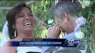 Koat Anchor Marisa Maez Gets Married